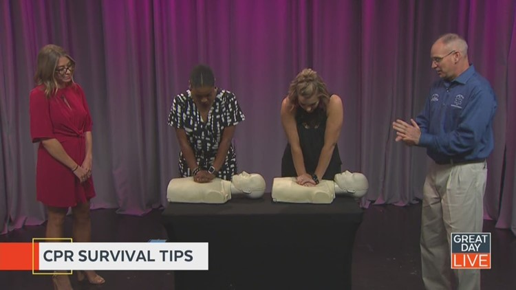 Refresher course in CPR
