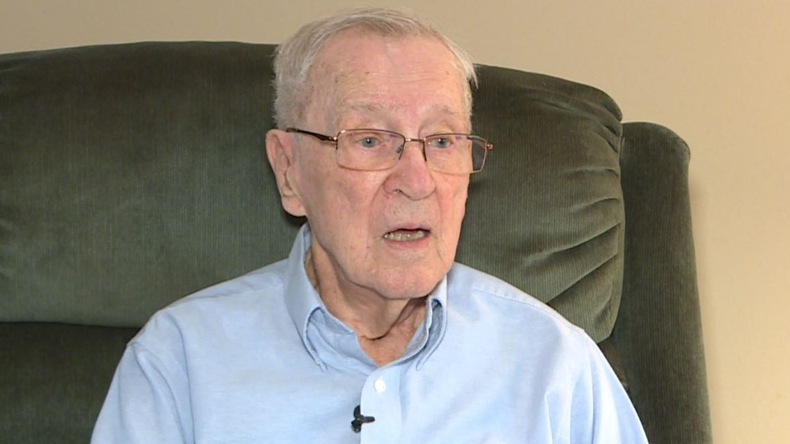 While Allies were storming Normandy, he was going through hell as a POW