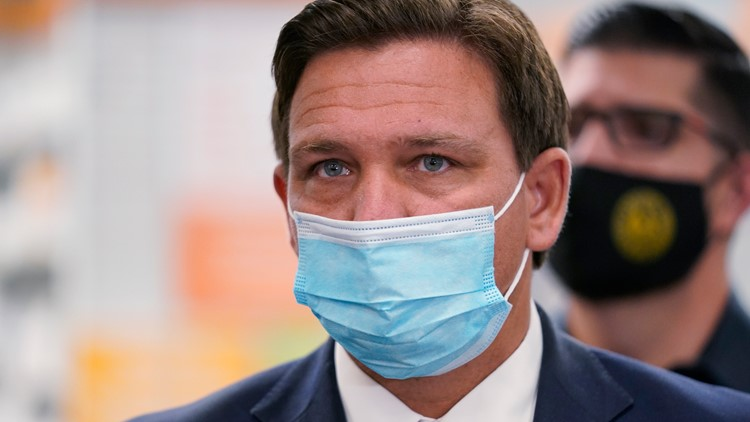 Gov. Ron DeSantis says he appreciates federally-run sites getting more vaccines to Floridians