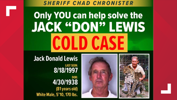 Hillsborough County sheriff says Don Lewis, whose case was in 'Tiger King,' was murdered