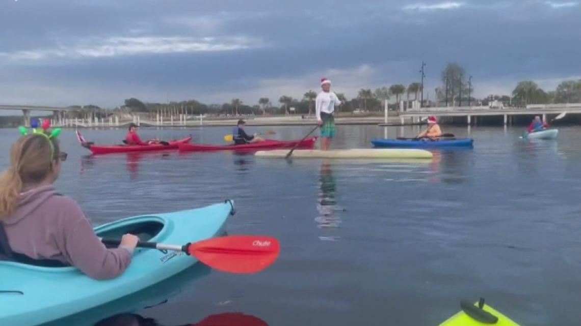 Kayaking kept her 'sane' during the pandemic. The result is cleaner Tampa Bay waterways