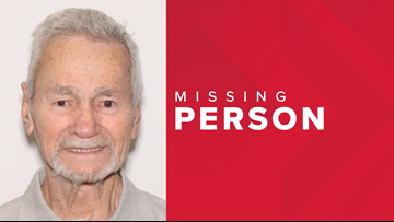 Missing 88-year-old man with dementia found safe