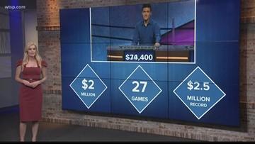 News in Numbers: 'Jeopardy James' tops $2 million in winnings