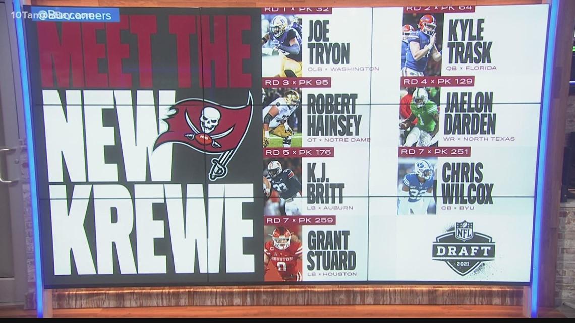 Meet the new krew: Grading the Bucs' NFL Draft picks