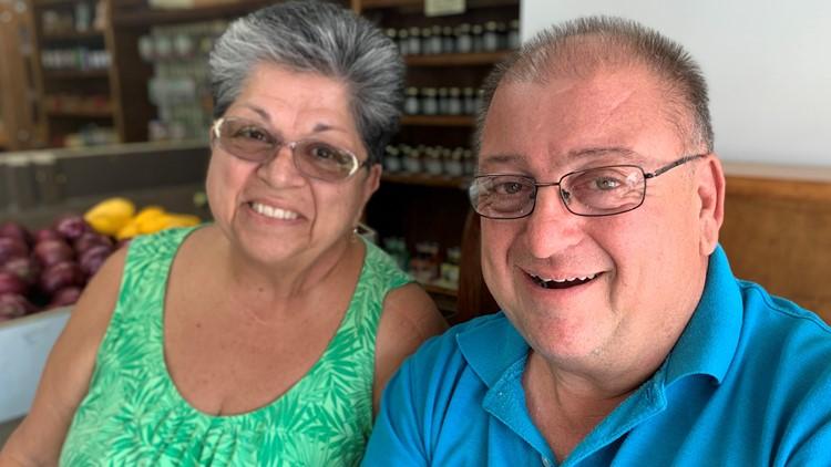 Joseph Buono and his sister Marie