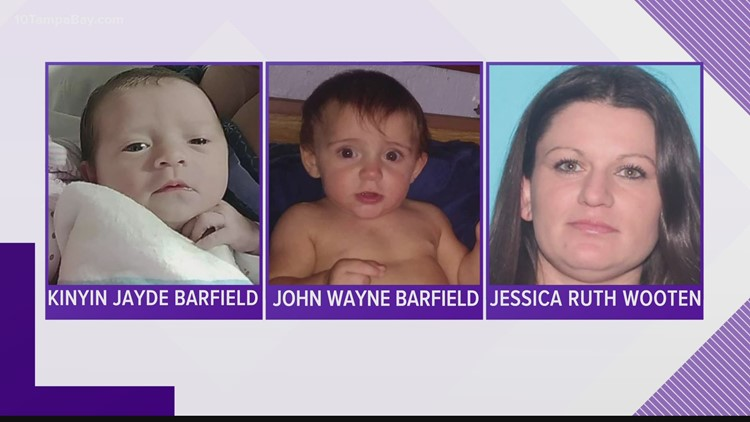 Deputies search for missing 1-year-old, baby believed to be with their mother