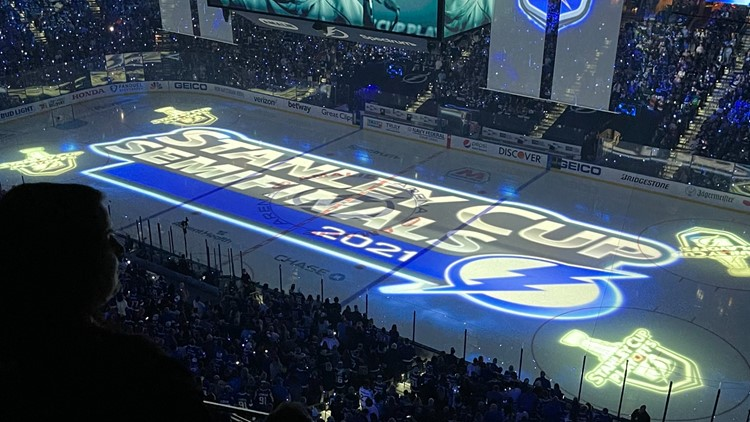 Disappointed but undeterred: Lightning fans maintain energy after loss against Islanders