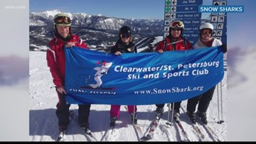 Clearwater Ski and Sports Club members trade sun and surf for mountains and powder