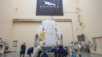 NASA: SpaceX Crew Dragon arrives in Florida for first crewed launch from US soil since 2011