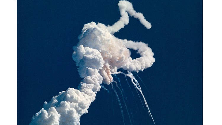space shuttle challenger explosion