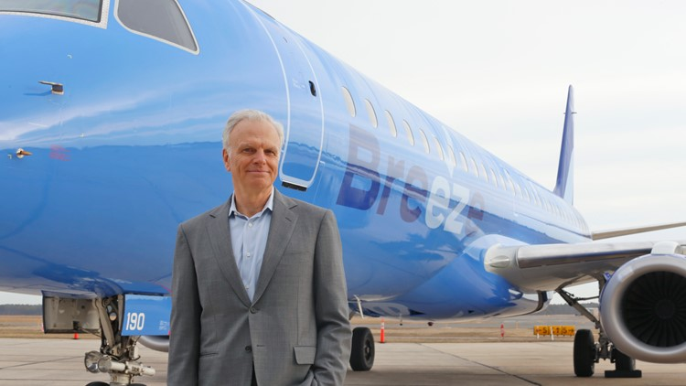 Brand new airline 'Breeze Airways' takes off at Tampa International