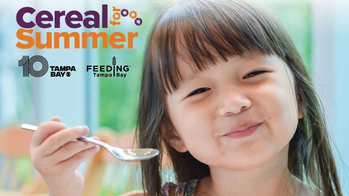 Cereal for Summer: How you can help feed children around Tampa Bay this summer
