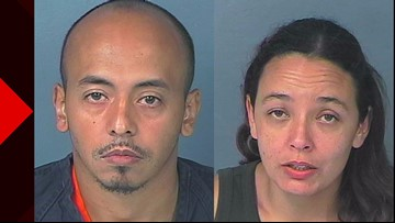 Couple arrested for burglary after moving into vacant home