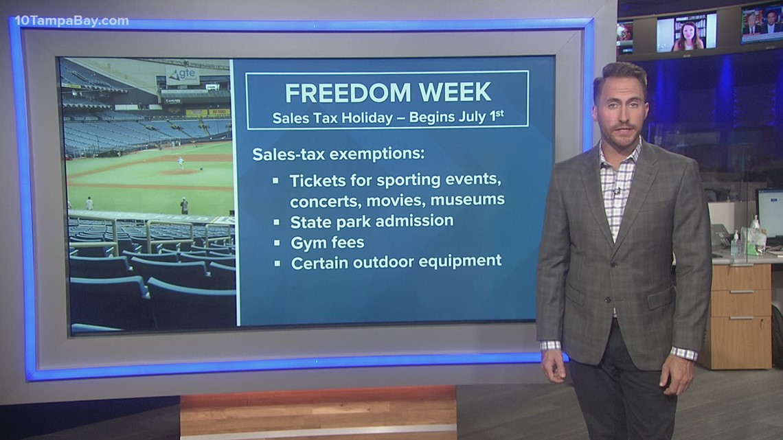 Proposed 'Freedom Tax Week' promotes spending on entertainment, sporting events