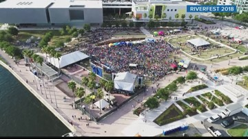 Tampa Riverfest is this weekend at Curtis Hixon Waterfront Park