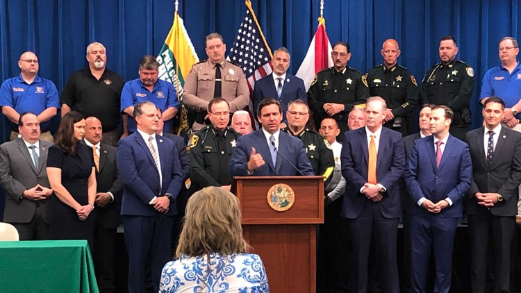 Gov. DeSantis sued in federal court over Florida's new 'anti-riot' law