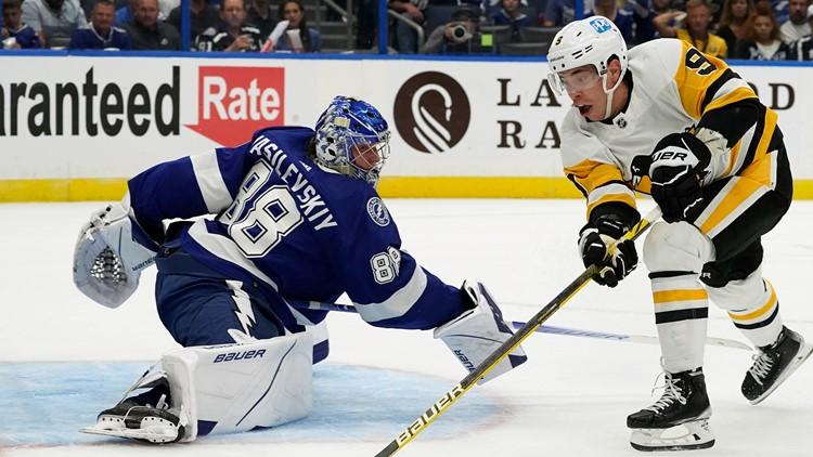 Lightning lose season opener against the Penguins 6-2