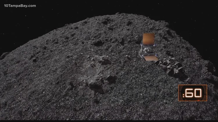 Got A Minute: NASA touches down on asteroid the size of the Empire State Building in historic mission
