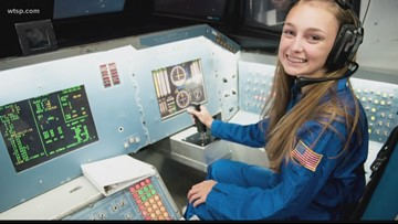 Clearwater student attends exclusive space camp for teens