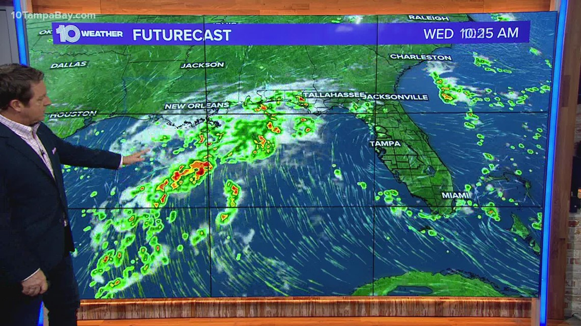 Tropical disturbance in Gulf to impact Tampa Bay this week: Noon Sept. 6 update