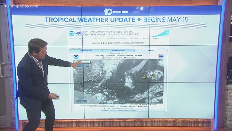 Tropical outlooks will get issued earlier this year, National Weather Service says
