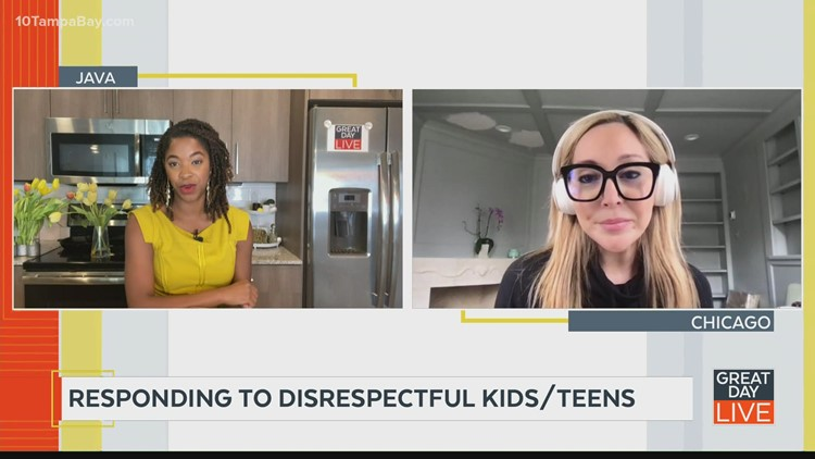 Responding to disrespectful kids and teens