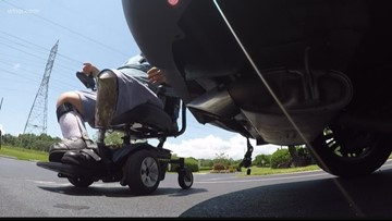 A Tampa veteran says his wheelchair lift fell off his vehicle twice, so he 'turned to 10' for help