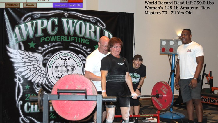 Judith Reed lifts 10 14 19