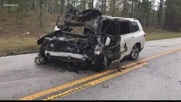 Fiery head-on crash kills 3 people in Citrus County