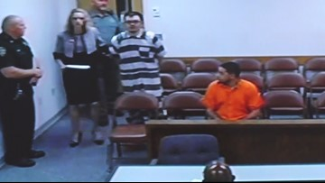 Raw court video: Judge rules no bond for suspected Sebring bank shooter