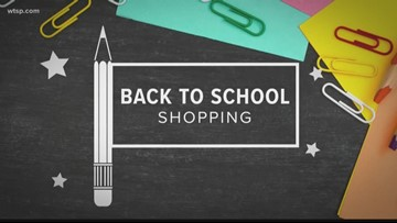 Florida's back to school sales tax holiday is Aug. 2-6