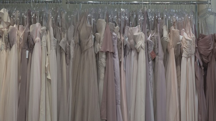 Bridal store encourages customers to order dresses early amid coronavirus fears