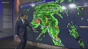 Tracking Gordon: Tropical Storm Gordon is forecast to threaten parts of Florida and the central Gulf coast this week.