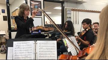 Beloved orchestra teacher prepares for her 'Final Countdown' concert