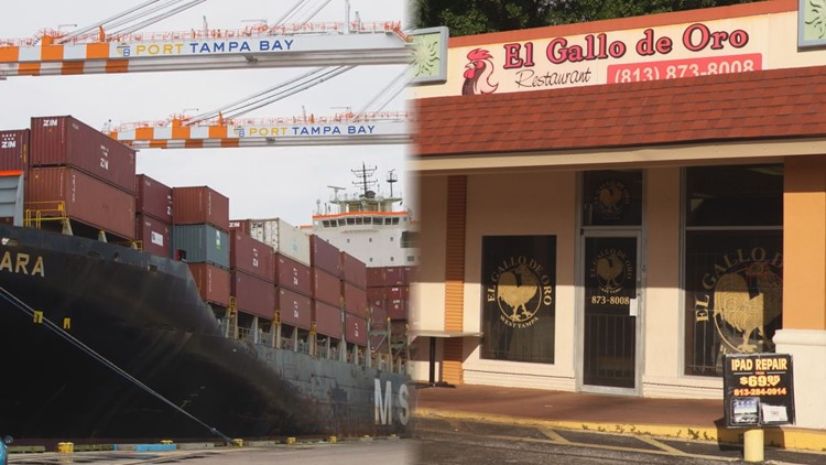 Supply shortages felt across Tampa Bay area as state tries to strike deal with cargo retailers