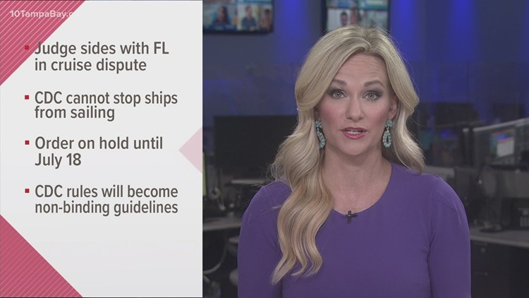 Court grants Florida a victory in legal battle over restarting cruise industry