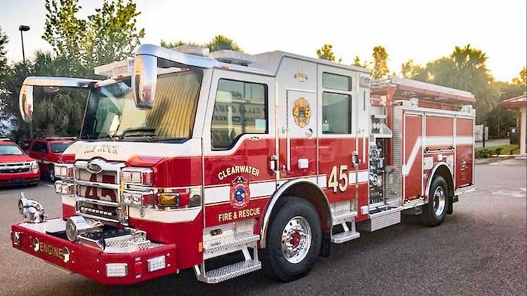 North Belcher Road shut down in Clearwater due to gas leak