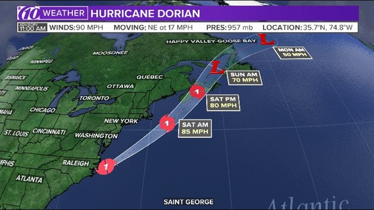 Hurricane Dorian 11a 9-6-19