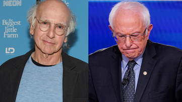 'He's too far behind': Larry David thinks Bernie Sanders Should drop out of race