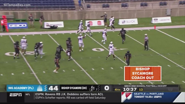 Was ESPN tricked into airing IMG Academy's high school football game?