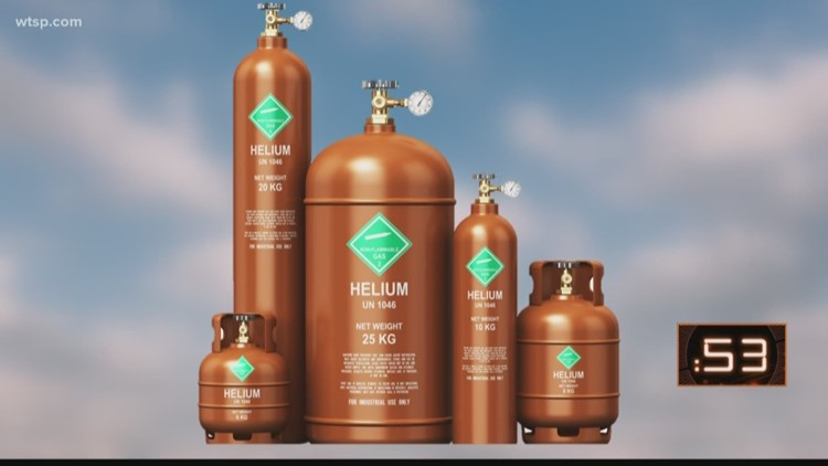 Global helium shortage affects more than just party balloons