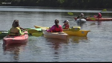 Retired Tampa cop helps kids experience Florida waters