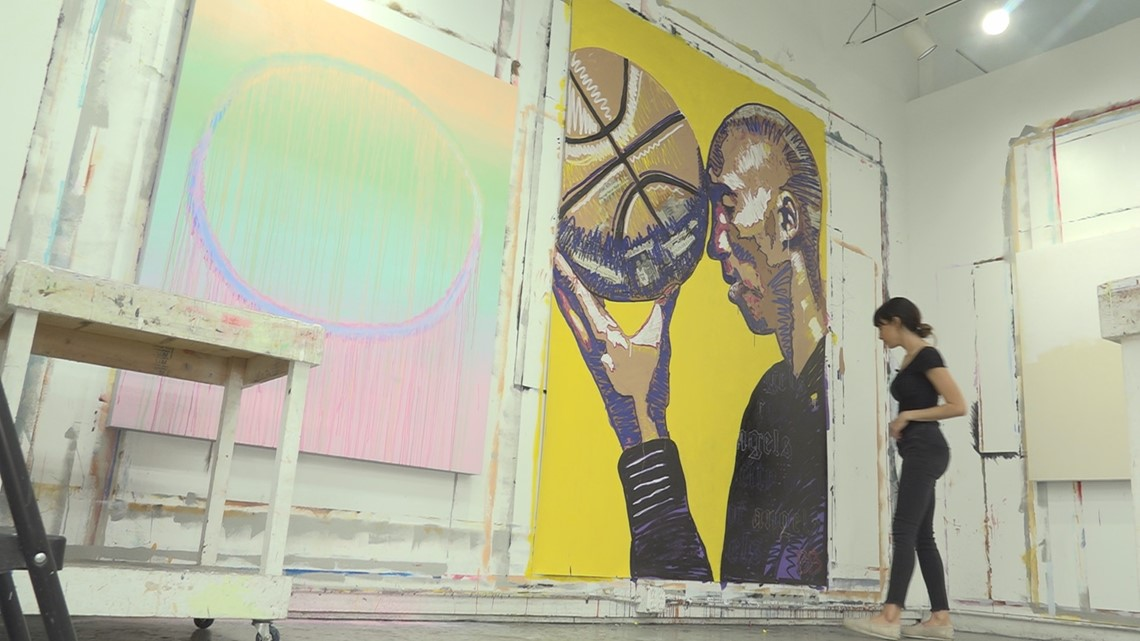 Tampa artist honors Kobe Bryant with touching mural