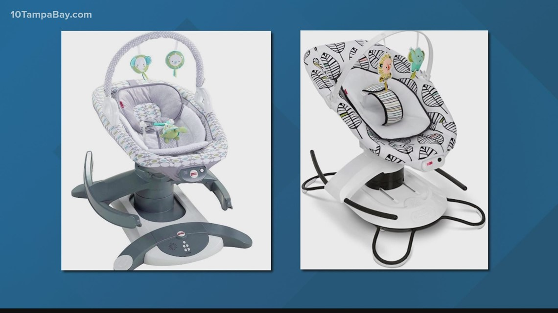 After 4 infant deaths, Fisher-Price recalling 227,000 gliders