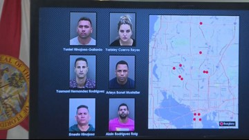 Sheriffs: Group broke into homes, stole $1M in stuff, including Dali art, Jimi Hendrix guitar