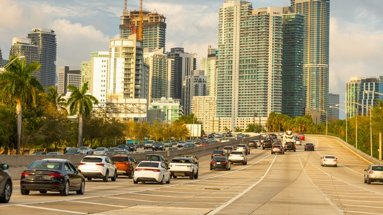 COVID-19 meant less cars on the road and improved air quality in Florida, study finds