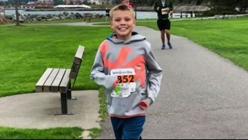 11-year-old breaks Guinness World Record for running a half marathon in every state