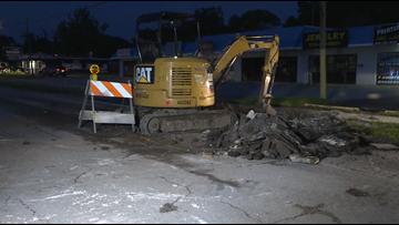 Water main break prompts Armenia Avenue closure in Tampa