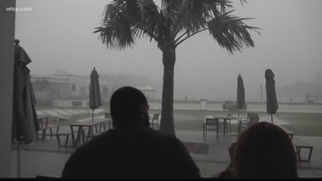 Stormy start to Boom by the Bay, but clearer skies ahead tonight
