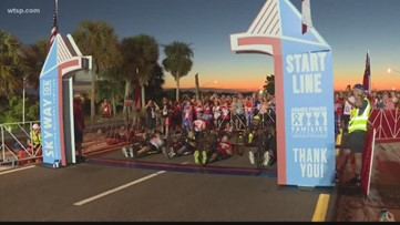 Skyway 10K: First wave will race across bridge using handcycles